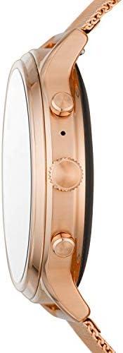 NFC GPS et Notifications Smartphone Rythme cardiaque Fossil Montre connect/ée 5/ème g/én/ération Julianna HR avec Haut parleur