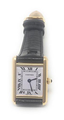 Cartier Tank Louis Cartier quartz womens Watch M210 (Certified Pre-owned) by Cartier