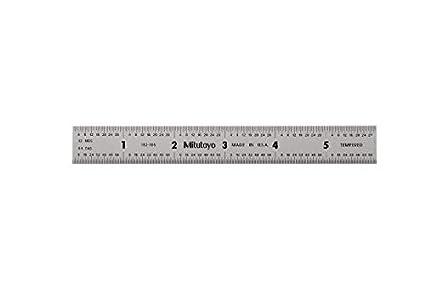 Mitutoyo 182-105 - Regla de acero inoxidable (150 mm): Amazon.es: Industria, empresas y ciencia