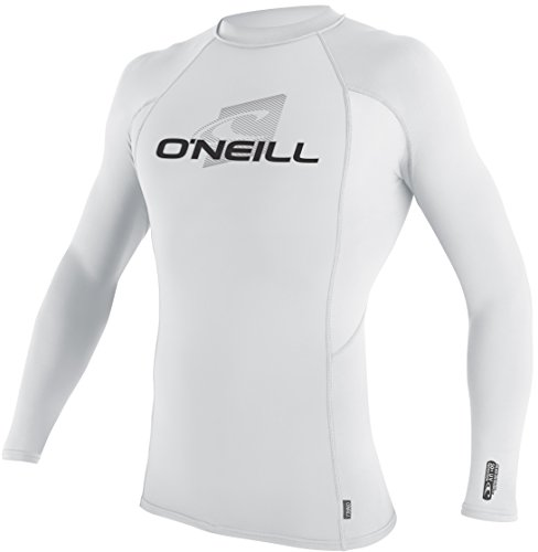O'Neill Wetsuits UV Sun Protection Men's Skins Long Sleeve Crew Rashguard
