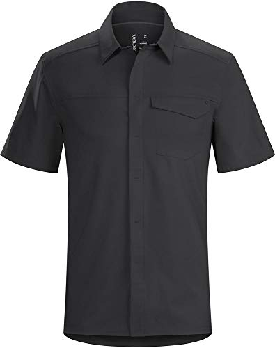 ARC'TERYX Skyline SS Shirt Men's (Black, X-Large)
