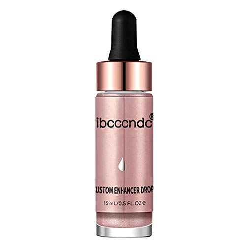Face Liquid,Women Face Glow Glitter Concealer Liquid Highlighter Health Shimmer Makeup, Facial Serums,Facial Creams & Moisturizers,Concealers & Neutralizing Makeup