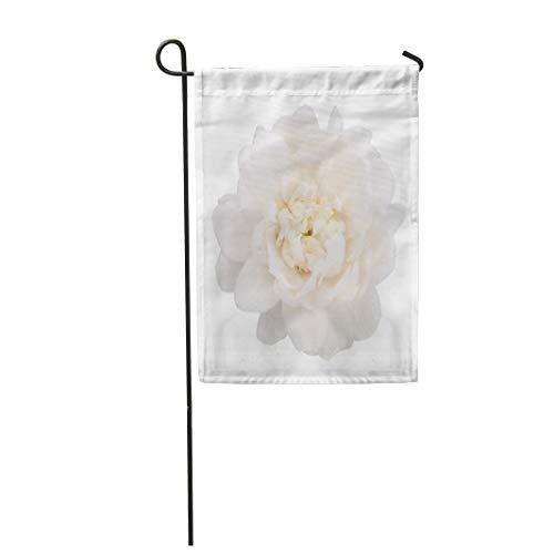 Semtomn Garden Flag 28x40 Inches Print On Two Side Polyester Green White Jasmine Flower Mother Perfume Thai Aroma Blossom Bud Home Yard Farm Fade Resistant Outdoor House Decor Flag - Aroma Calm Perfume