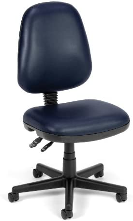 OFM Core Collection Straton Series Armless Swivel Task Chair