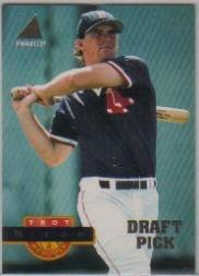 1994 Pinnacle Baseball Rookie Card #270 Trot Nixon (Rookie Card Pinnacle 1994)