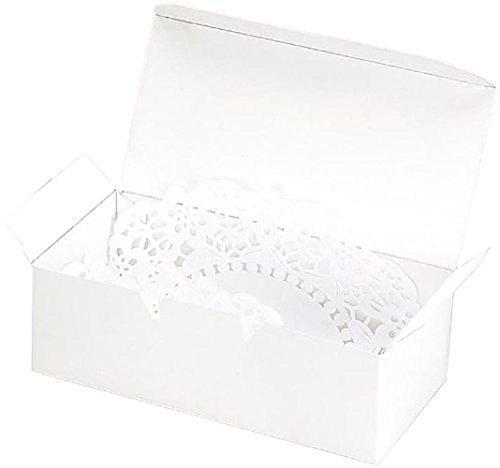 Darice 1404-27 Victoria Lynn Cake Box, 24-Pieces per Package, White