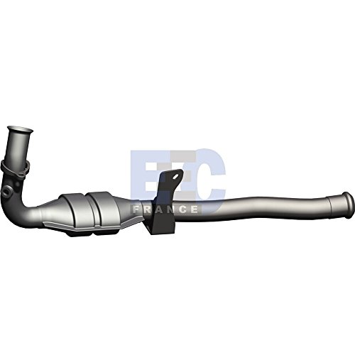 RE8012 EEC Exhaust Catalytic Converter with fitting kit: