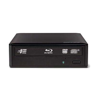 Buffalo MediaStation 12X USB 3.0 External Blu-Ray Writer - BR3D-12U3 from BUFFALO