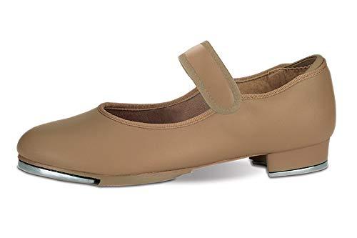 Danshuz Toddler / Child Loop Touch Closure Tap Shoes (Bella Tan) - 1 Pair (6M Tan)