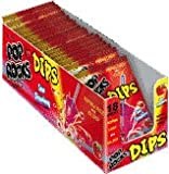 Pop Rocks Dips - Sour Strawberry 18ct.