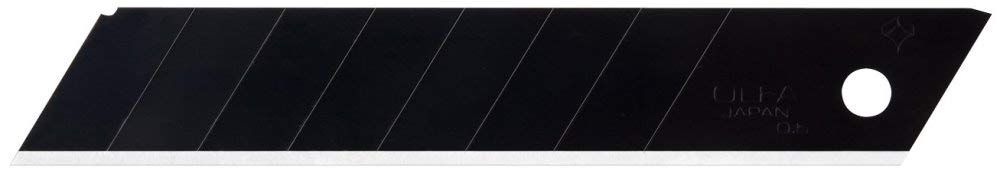 6 Pack Olfa 9070 18mm Heavy-duty Ultra-Sharp Black Snap-off Blades - 10 per Package (LBB-10B) by OLFA