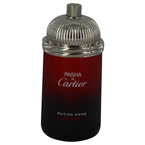 Cartier Cartier pasha de cartier noire sport for men 3.4 ounce (tester), 3.4 Ounce