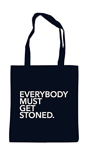 Everybody Must Get Stoned Bag Black