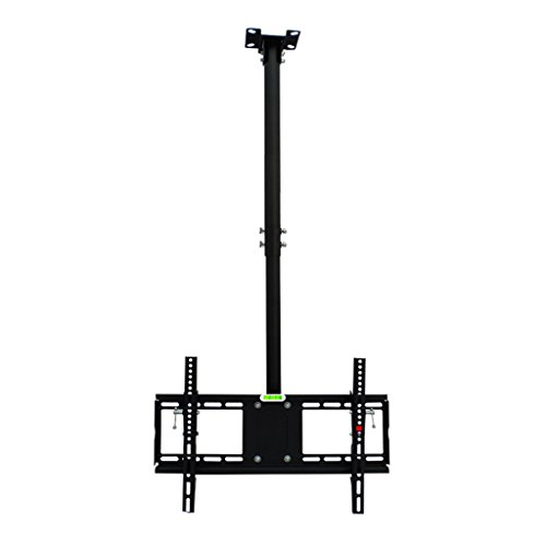 LCD TV Ceiling Bracket, Tilts, Swivels and Height Adjustable Ceiling Bracket for 50-65 (Lcd Kitchen Bracket)