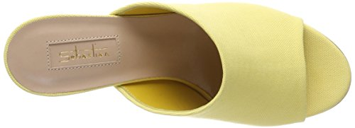 Sebastian Damen S7552t Peeptoe Sandalen Gelb (Yellow)