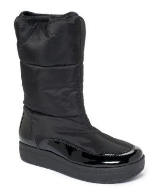 Cole Haan Women's Air Alexa Winter Boot (6, Silver)