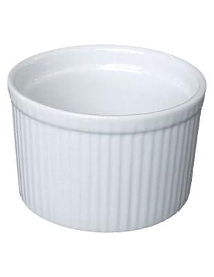 BIA Cordon Bleu White Porcelain Souffle Dish