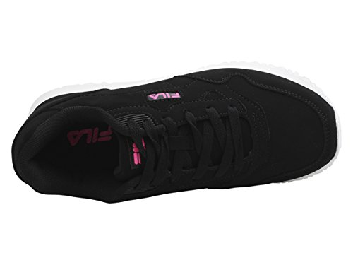 Shoes White Black Women's Pink Fila Cress Out Sneakers Knock qAUtwpW