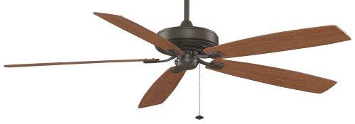 72 Edgewood 5 Blade Ceiling Fan - Finish: Oil Rubbed Bronze