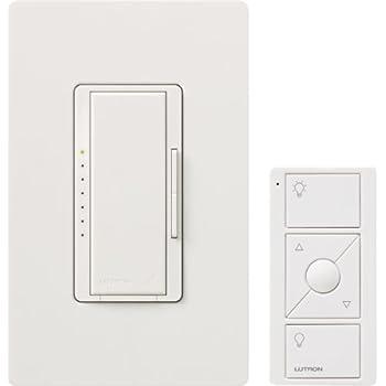 Lutron Wireless Switch >> Lutron Mrf2 600mthw Wh Maestro Wireless 600 Watt Multi Location