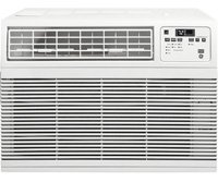 "GE AHM15AW 26"" Energy Star Qualified Window Air Conditioner with 15,000 BTU Cooling Capacity in White"