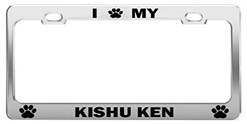 I PAW MY KISHU KEN Auto Exterior Accessories Tag Cover