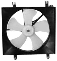 honda accord 1991 radiator fan - 2