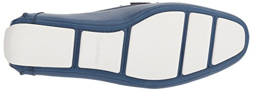 Calvin Klein Men's Magnus Tumbled Leather Slip-On Loafer Blue buy cheap official UfpJiYu