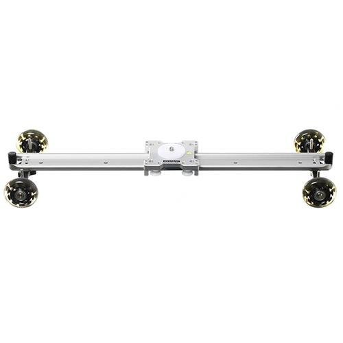 Sevenoak SK-DS60 24in Wide Heavy-duty Aluminum Slider with Skater Wheels for Canon 5D MarkII/7D/60D/500D-550D, Nikon D3100/D7000/A55, Sony A7S/A&R/A7S2 and Panasonic Camcorders, 22 lbs Capacity by Sevenoak
