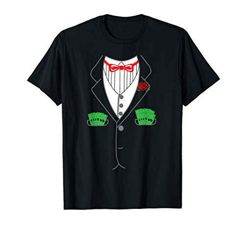 Mafia Outfit For Women (Halloween Mob Boss Shirt | Hoodlum Human Suit Outfit)