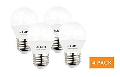 J.LUMI LED 3W A15 bulb in 1 pack and 4 pack