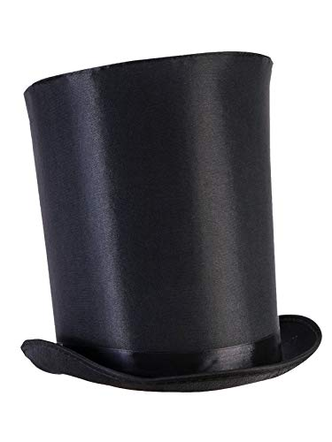 Forum Novelties Unisex-Adults Extra Tall Top Hat, - Stove Lincoln