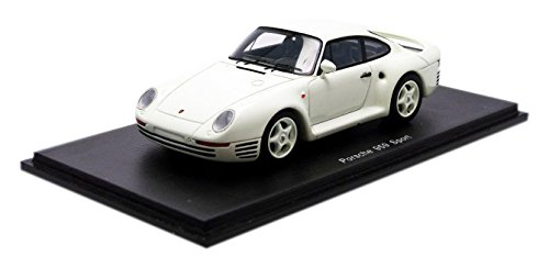 ☆ スパーク 1/43 ポルシェ 959 スポルト 1986 ホワイト B01BTQZX6O