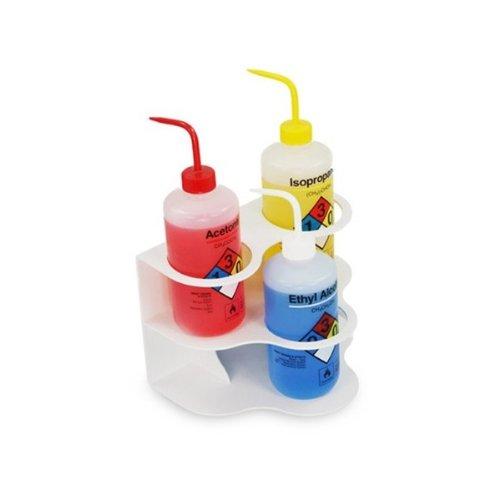 Alkali Scientific 51826 ABS Plastic 2-Story Bottle Rack, 7 Bottle
