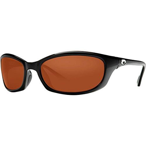 Costa Del Mar Harpoon Sunglasses, Black, Copper 580 Plastic Lens