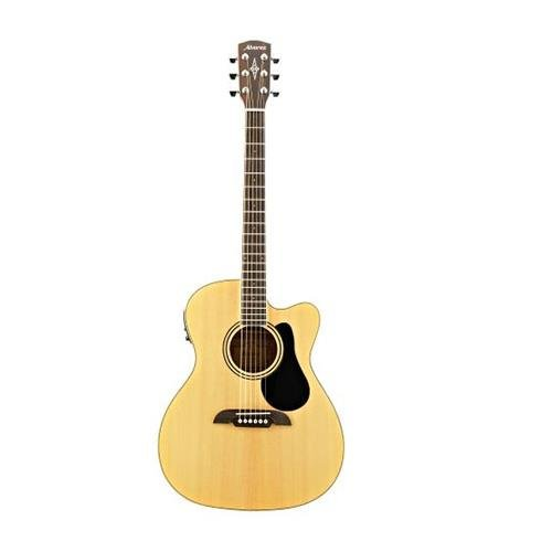 Alvarez RF26CE OM/Folk Acoustic-Electric Guitar Natural (Electric Acoustic Guitar Alvarez)