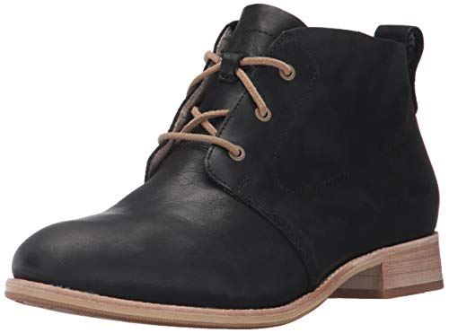 - Caterpillar Women's Hester 3 Eyelet Leather Chukka Bootie Ankle Boot, Black, 7 Medium US