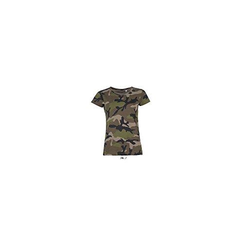 SOL´S Womens Camo T-Shirt, L, Camo