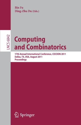Computing and Combinatorics: 17th Annual International Conference, COCOON 2011, Dallas, TX, USA, August 14-16, 2011. Proceedings (Lecture Notes in Computer Science)