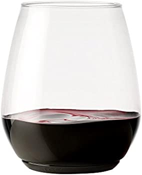 Tossware 12 Piece Recyclable Wine Glasses