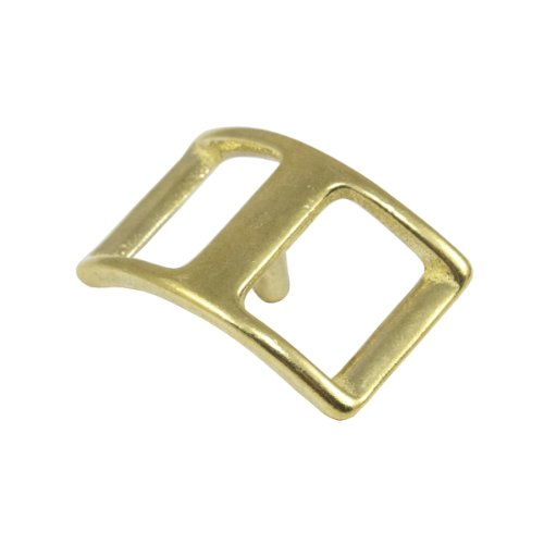 "Springfield Leather Company 3/4"" Solid Brass Conway Buckle 10 Pack"
