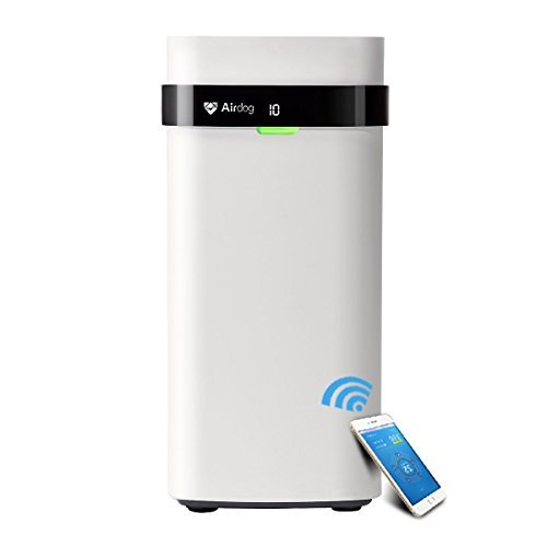 Airdog X5 Non-Filter Air Purifier for Allergy and Asthma,14.6nm/0.0146 microns Level/Beyond HEPA, Ultra Quiet, Washable&Energy-Saving