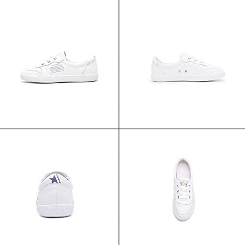 Deck Breathable Sneakers B Shoes New Little Shallow White Shoes Shoes Flat Leatherette Mouth Shoes Athletic Womens's Jiang Casual Academy Shoes Lazy qTapa