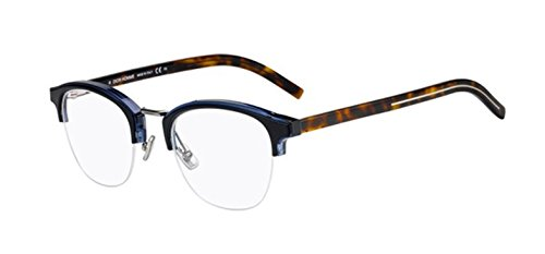 (New Christian Dior Homme Black Tie 241 9N7 Blue Black Eye Wear Eye)