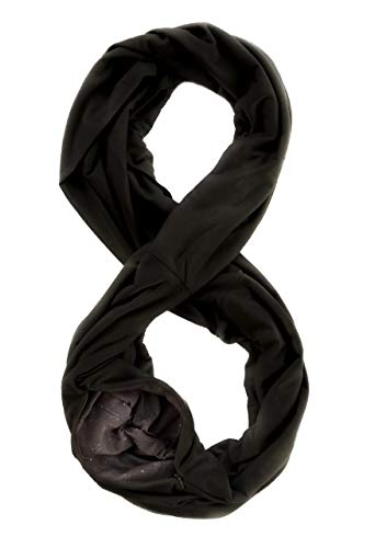 WAYPOINT GOODS Travel Scarf // Infinity Scarf with Hidden Pocket ()
