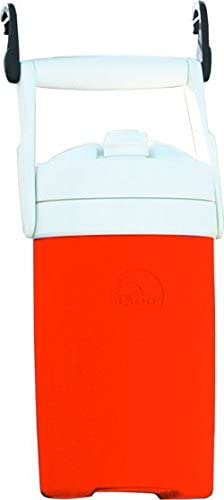 Igloo Sport Cooler with Hooks, Orange, 1 2 gal