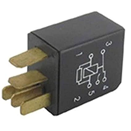 Eléctrico de 5 conexiones 12 V - 20 A para cortacésped y ...