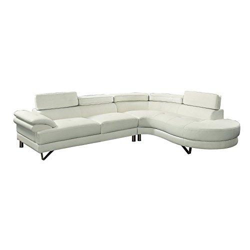 tional Sofa, White ()