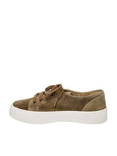 Wensky Cordones Spieth Zapatos Verde Mujer De Para Pqd0wzd