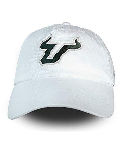 (Elite Fan Shop South Florida Bulls Hat Icon White - Adjustable)